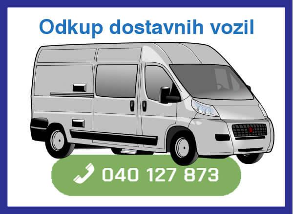 Odkup dostavnih vozil - 040 127 873 - kontakt