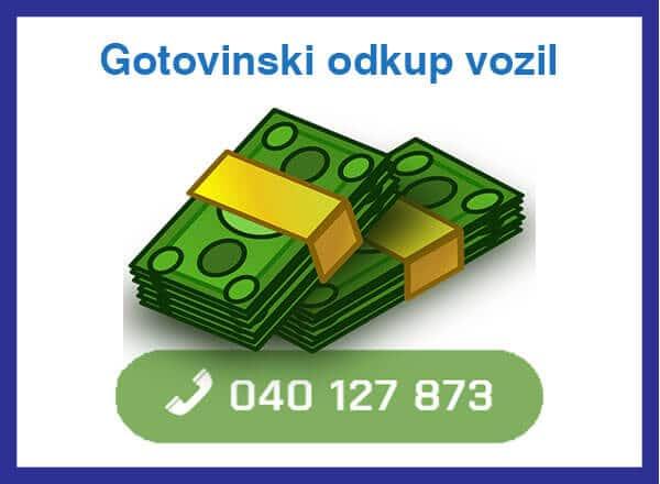 gotovinski odkup vozil - 040 127 873 - kontakt
