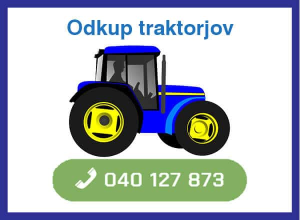 odkup traktorjov -040 127 873 kontakt