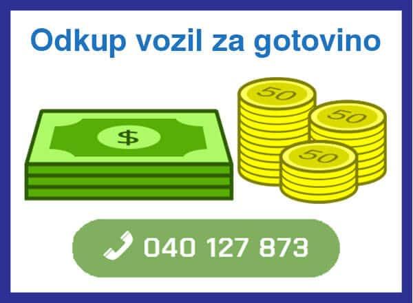 odkup vozil za gotovino - 040 127 873 - kontakt